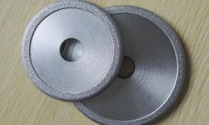 Vacuum Brazed Diamond Stone Grinding Cup Wheel